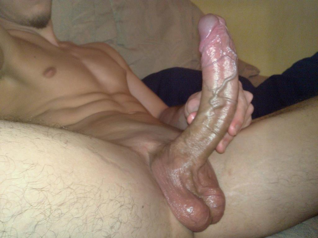 All Shaved And Oiled With My Rock Hard Cock gay